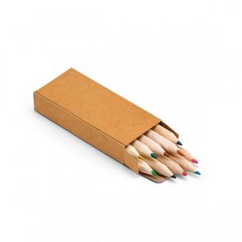 Caixa com 10 lápis de cor